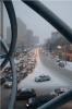 Предновогодний снегопад в Химках 2012