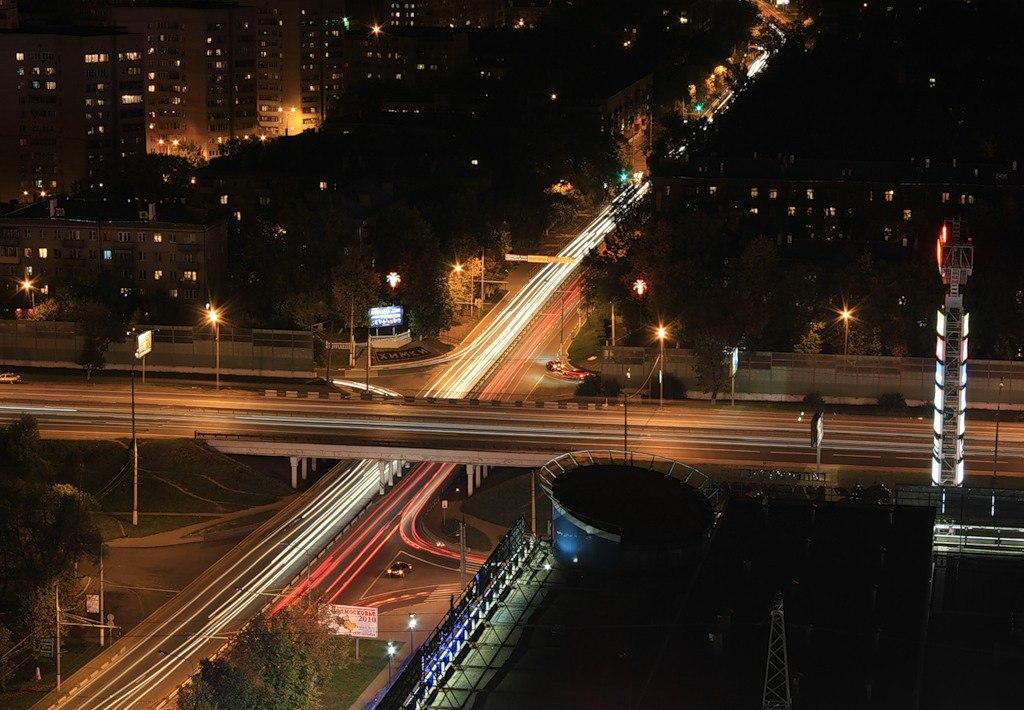 Пересечение Ленинградского шоссе и Юбилейного проспекта